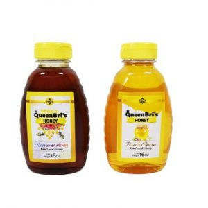 Private Reserve and Wildflower Honey - 16 Oz - Queen Bris Honey