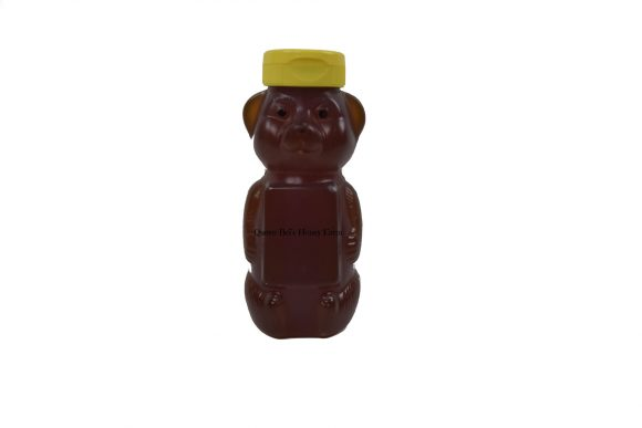 Wildflower - 12 Oz Honey Bear - Watermark - Queen Bris Honey