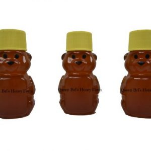 Wildflower - 2 Oz Honey Bear - Queen Bris Honey - Watermark