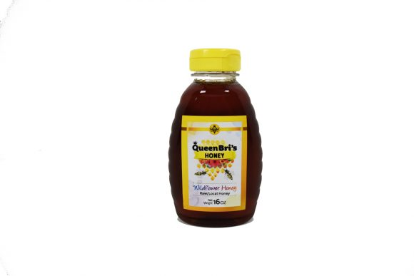 Wildflower Honey - 16 oz bottle - Queen Bris Honey