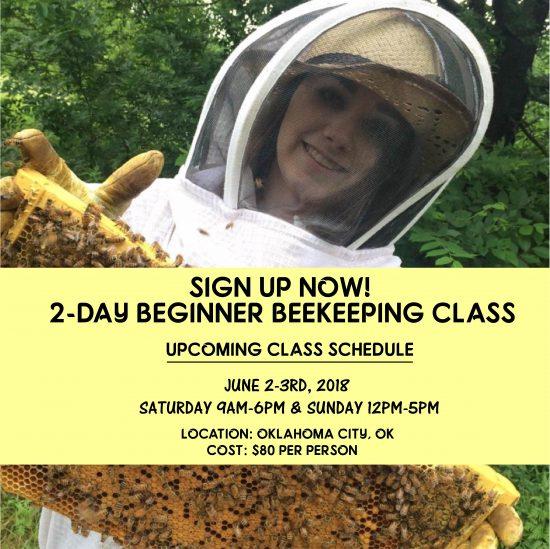 Beginner Beekeeping Class - June 2-3 2018