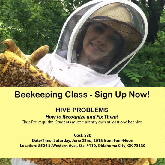 Hive Problems Class Calendar - June 2018
