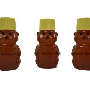 Wildflower - 2 Oz Honey Bear - Queen Bris Honey - Watermark
